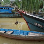 Small boat in Cam Nam, Hoi An