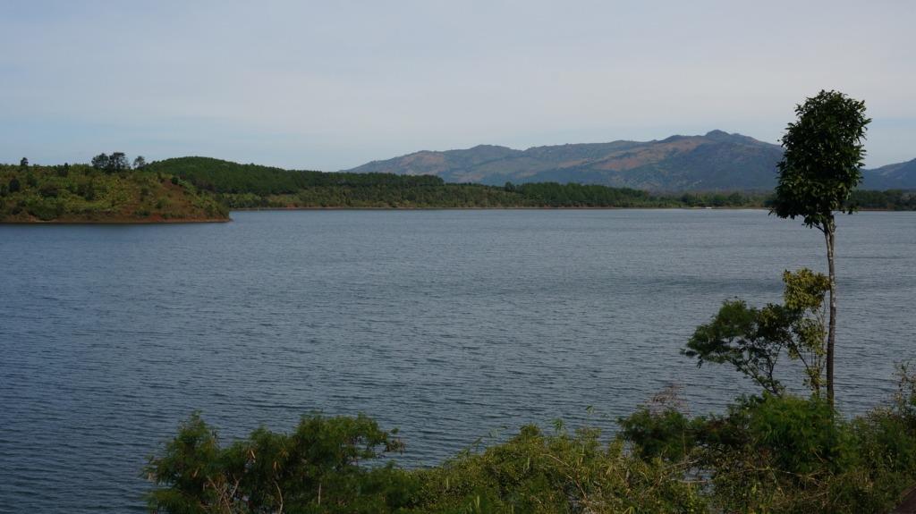 Bien Ho crater lake