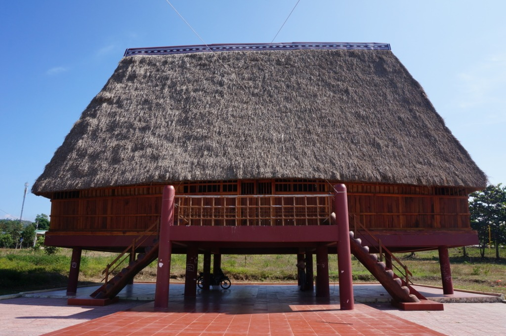 Traditional house in Dak To