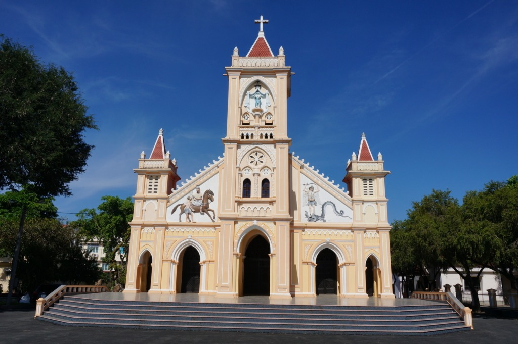 kon Tum's Tan Huong church