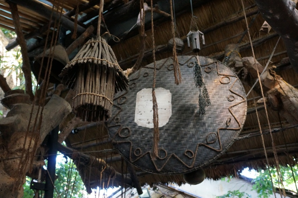Items inspired by local ethnics at Eva café, Kon Tum