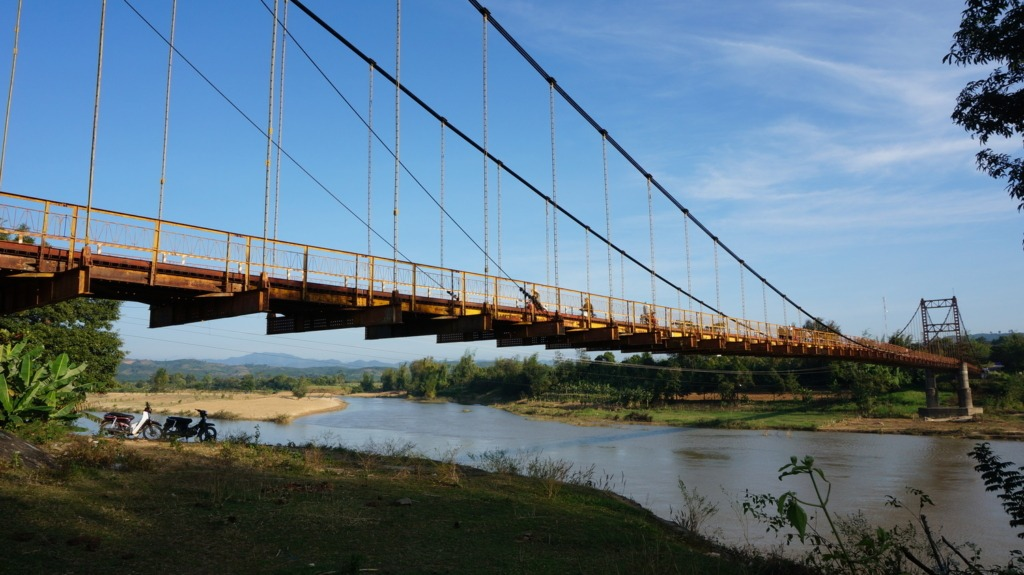 Kon Tum's Konklor bridge