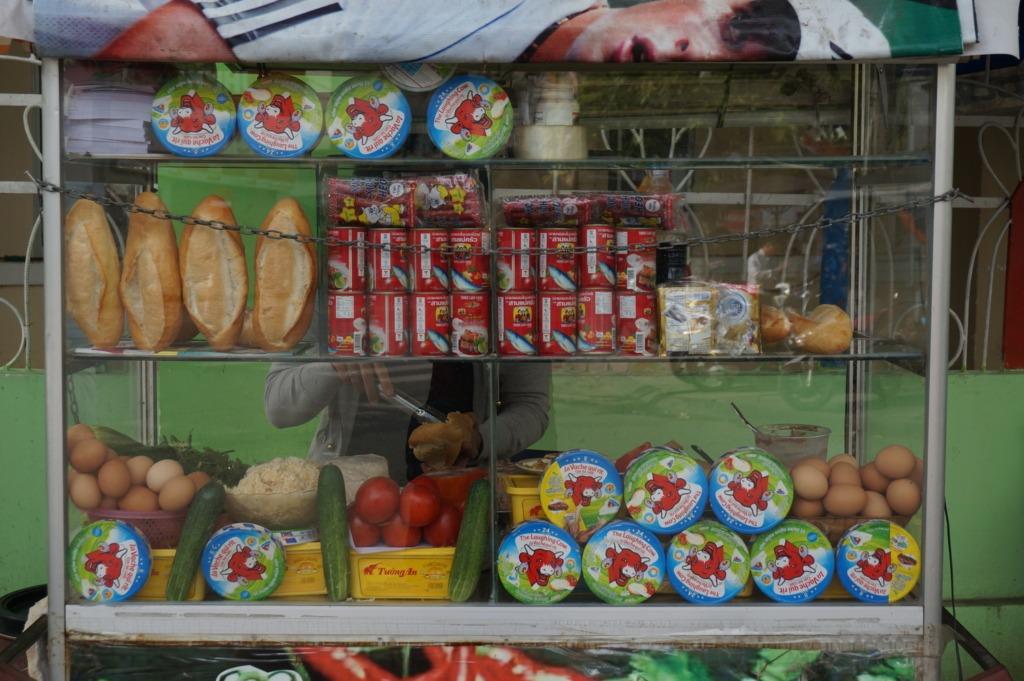 bánh mì stall