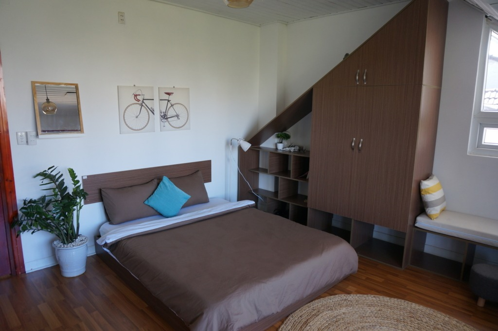 Our Airbnb room in Da Lat
