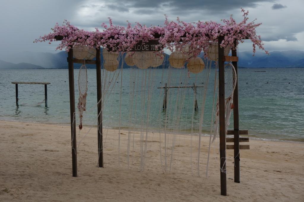 Sao Bien resort's decoration