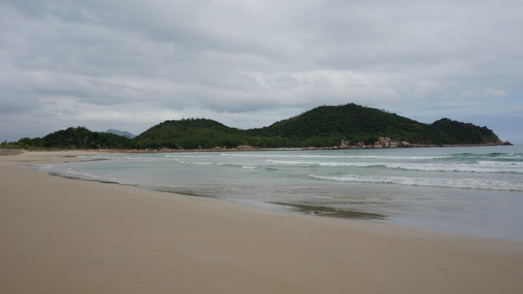 Binh Tien's beach