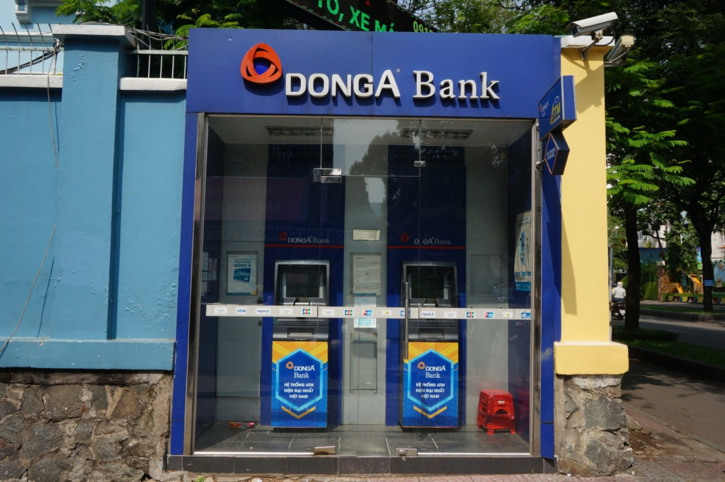 DongA bank ATMs have low ATM fees