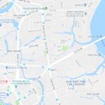 Part of Sai Gon on Google Maps