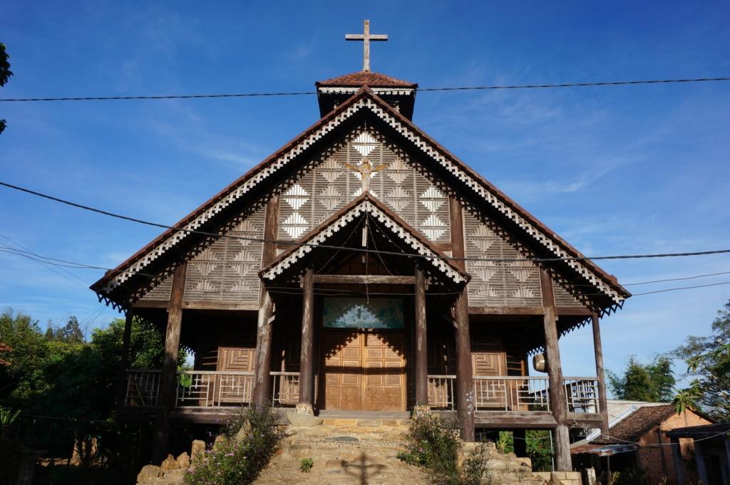 Kon Kotu's wooden church