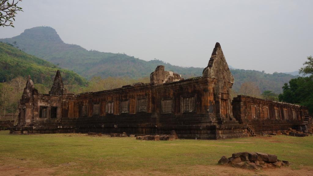 Wat Phu's temples