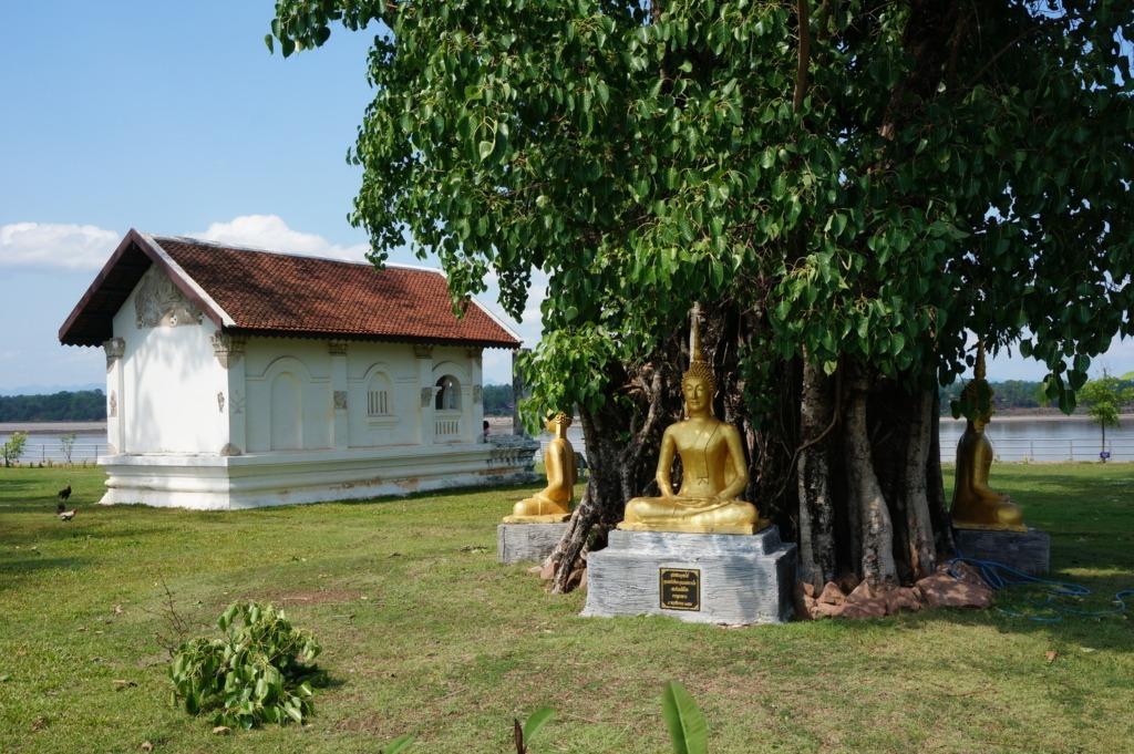 Peaceful scenery along the Mekong
